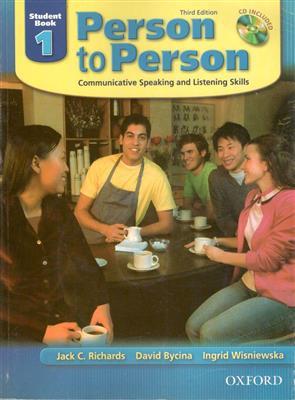 خرید کتاب انگليسی Person to Person 1 (3rd)+CD (Glossy Paper)