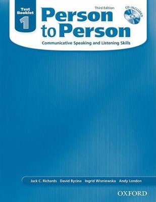 خرید کتاب انگليسی Person to Person 1 Test Book+CD