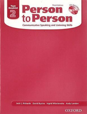 خرید کتاب انگليسی Person to Person 2 Test Book+CD