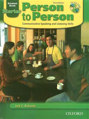 خرید کتاب انگليسی Person to Person Starter (3rd)+CD (Glossy Paper)