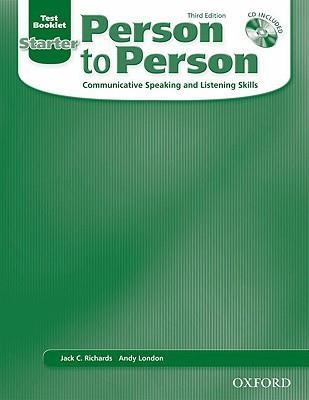 خرید کتاب انگليسی Person to Person Starter Test Book+CD
