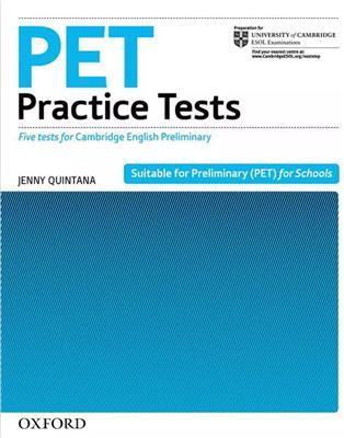 خرید کتاب انگليسی Pet Practice Tests+CD