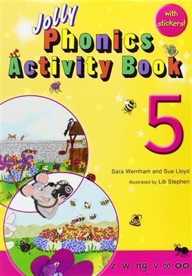 خرید کتاب انگليسی Phonics 5 Activity BooK