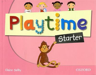 خرید کتاب انگليسی Playtime Starter (SB+WB+CD+DVD)