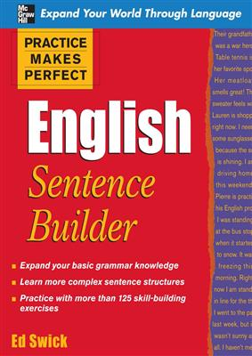 خرید کتاب انگليسی Practice Makes Perfect English Sentence Builder