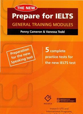 خرید کتاب انگليسی Prepare For the IELTS General Training Modules+CD