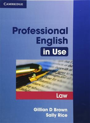 خرید کتاب انگليسی Professional English in Use Law