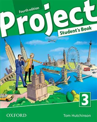 خرید کتاب انگليسی Project 3 (4th) SB+WB+CD+DVD