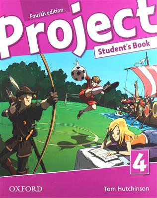 خرید کتاب انگليسی Project 4 (4th) SB+WB+CD+DVD