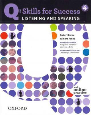 خرید کتاب انگليسی Q Skills for Success Level 4 listening and speaking + CD