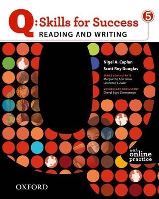 خرید کتاب انگليسی Q Skills for Success Level 5 + CD