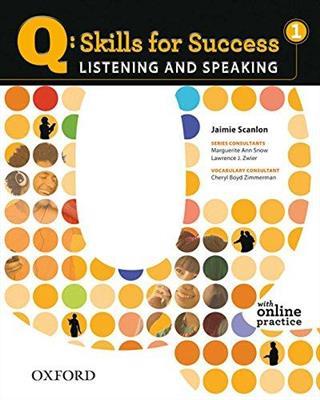 خرید کتاب انگليسی Q Skills for Success Listening and Speaking 1 + CD
