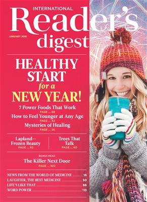 خرید کتاب انگليسی Reader's Digest International January 2018