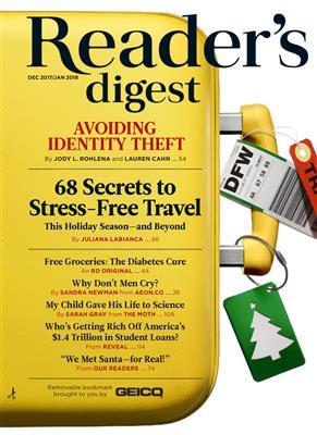 خرید کتاب انگليسی Reader's Digest International  dec 2017