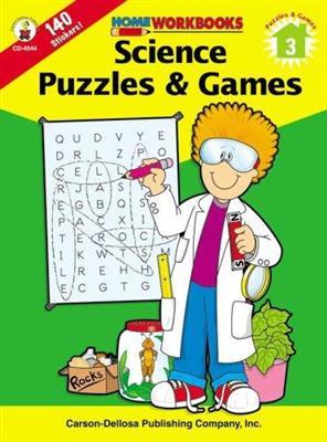 خرید کتاب انگليسی Science Puzzles & Games