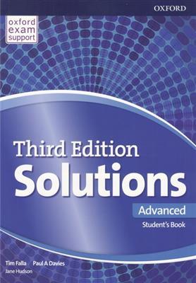 خرید کتاب انگليسی Solutions 3rd Advanced  (SB+WB+DVD)