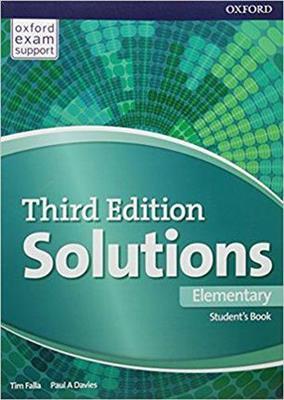 خرید کتاب انگليسی Solutions 3rd Elementary (SB+WB+DVD)