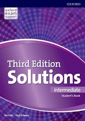 خرید کتاب انگليسی Solutions 3rd Intermediate (SB+WB+DVD)