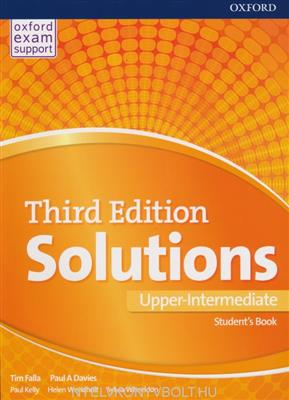 خرید کتاب انگليسی Solutions 3rd Upper Intermediate (SB+WB+DVD)