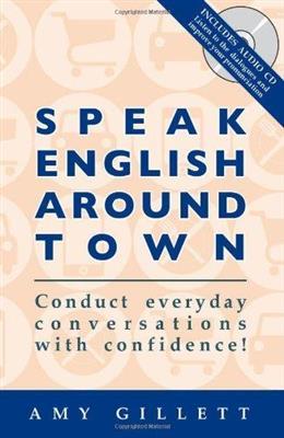 خرید کتاب انگليسی Speak English Around Town+CD