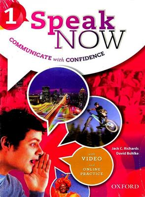 خرید کتاب انگليسی Speak Now 1 (SB+WB+DVD)