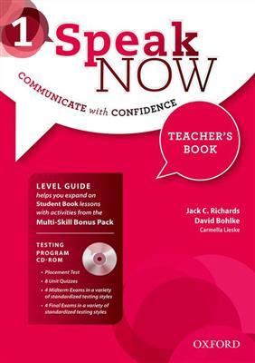 خرید کتاب انگليسی Speak Now 1 Teachers book+CD