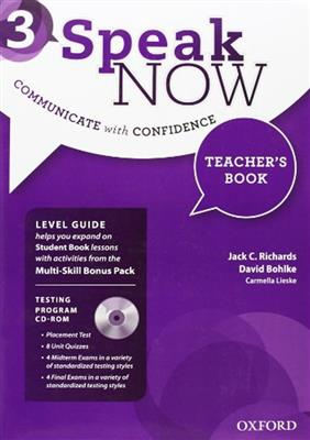 خرید کتاب انگليسی Speak Now 3 Teachers book+CD