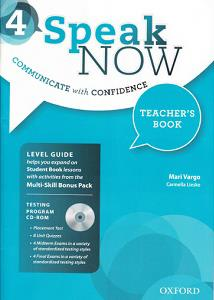 خرید کتاب انگليسی Speak Now 4 Teachers book+CD