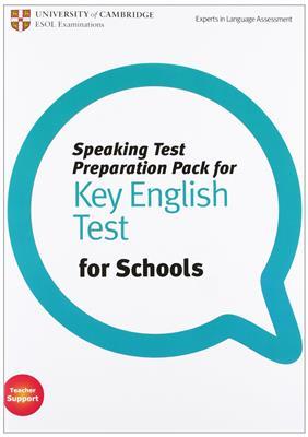 خرید کتاب انگليسی Speaking Test Preparation Pack for Key English Test