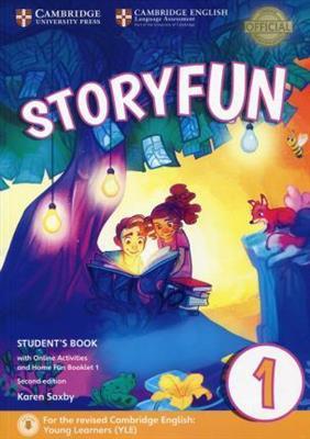 خرید کتاب انگليسی Storyfun 1 Students Book