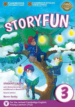 خرید کتاب انگليسی Storyfun 3 Students Book+Home Fun Booklet 3+CD