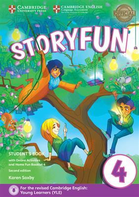 خرید کتاب انگليسی Storyfun for 4 Students Book