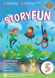 خرید کتاب انگليسی Storyfun for 5 Students Book+Home Fun Booklet 5+CD