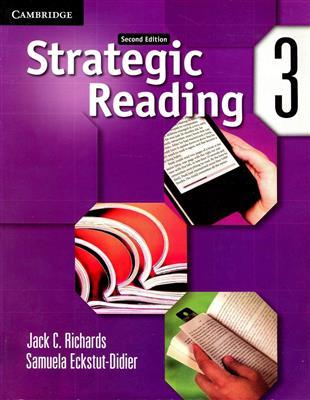 خرید کتاب انگليسی Strategic Reading 3 (2nd)