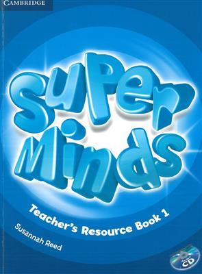 خرید کتاب انگليسی Super Minds 1 Teachers Book+CD
