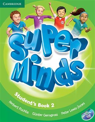 خرید کتاب انگليسی Super Minds 2 (SB+WB+CD+DVD)