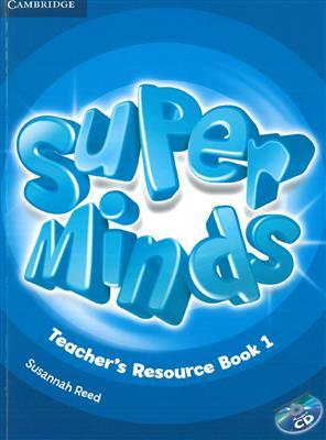 خرید کتاب انگليسی Super Minds 2 Teachers Book+CD