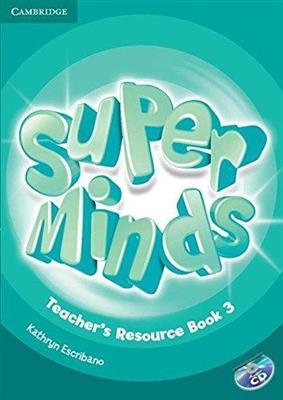 خرید کتاب انگليسی Super Minds 3 Teachers Book+CD