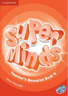 خرید کتاب انگليسی Super Minds 4 Teachers Book+CD