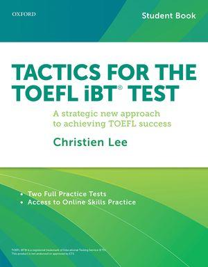 خرید کتاب انگليسی Tactics For the TOEFL iBT Test + Booklet + CD