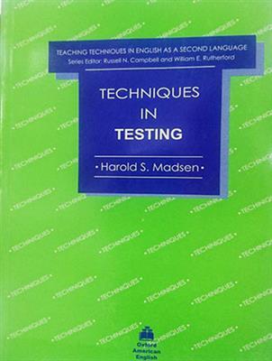 خرید کتاب انگليسی Techniques In Testing