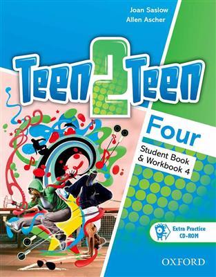 خرید کتاب انگليسی Teen 2 Teen Four (SB+WB+DVD)