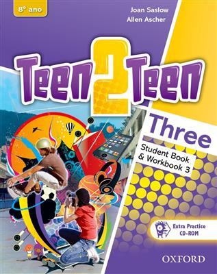خرید کتاب انگليسی Teen 2 Teen Three (SB+WB+DVD)