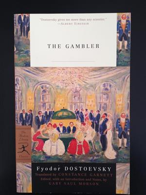 خرید کتاب انگليسی The Gambler-Full Text