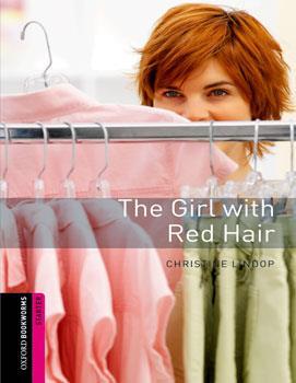 خرید کتاب انگليسی The Girl with Red Hair :Starter