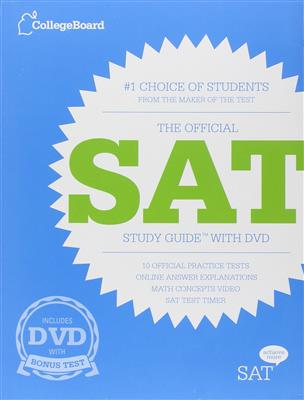 خرید کتاب انگليسی The Official SAT Study Guide+DVD