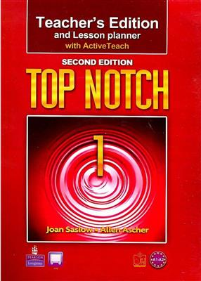خرید کتاب انگليسی Top Notch 1 Teacher's Edition 2nd edition