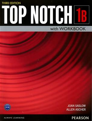 خرید کتاب انگليسی Top Notch 1B (3rd)+DVD
