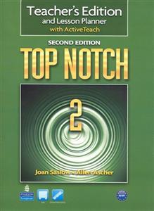 خرید کتاب انگليسی Top Notch 2 Teacher's Edition 2nd edition