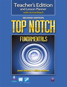خرید کتاب انگليسی Top Notch Fundamentals Teacher's Edition 2nd edition